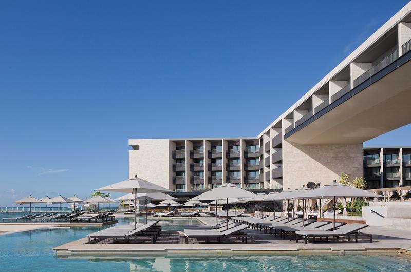 Hotel grand hyatt playa del carmen coolhuntermx for Arquitectura de hoteles