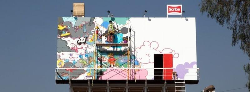 Scribe billboard dia7
