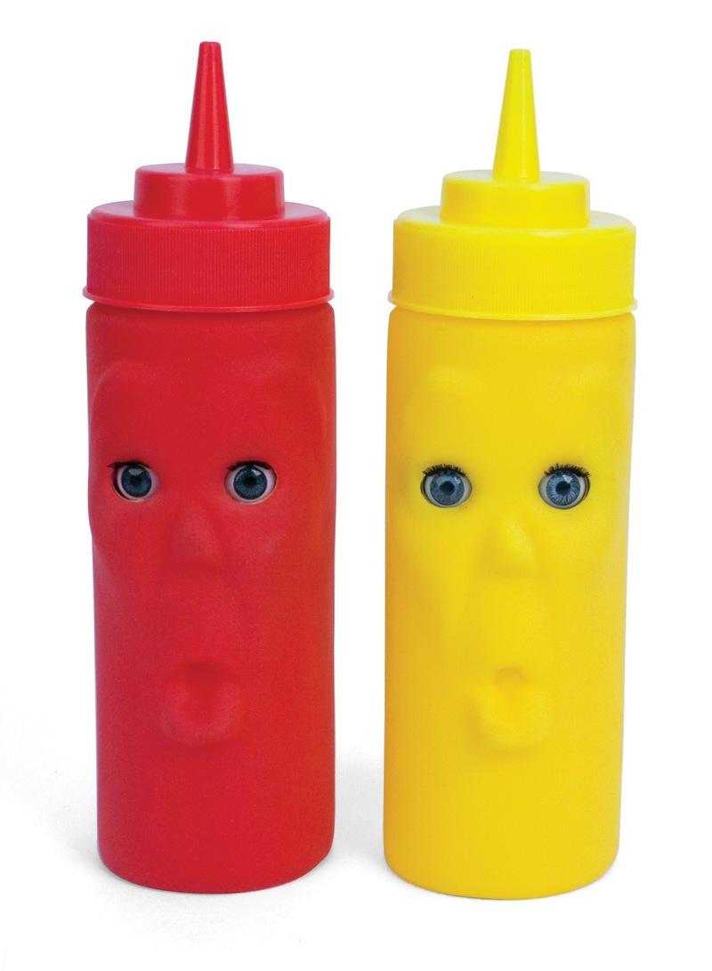 Kikkerland-CU03-Blink-Ketchup-Mustard