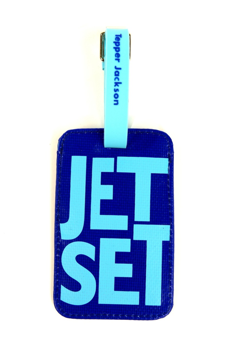 Tepper Jackson - ID Tags Jet Set