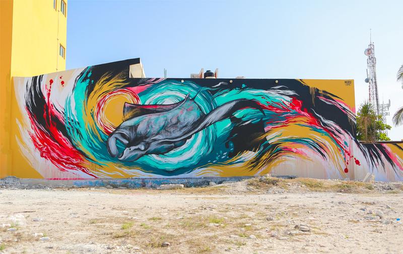 Tony delfino for Murales faciles y creativos