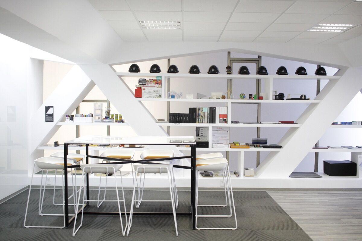 Coolhuntermx pent gono arte y dise o en espacios for Despachos de diseno de interiores df