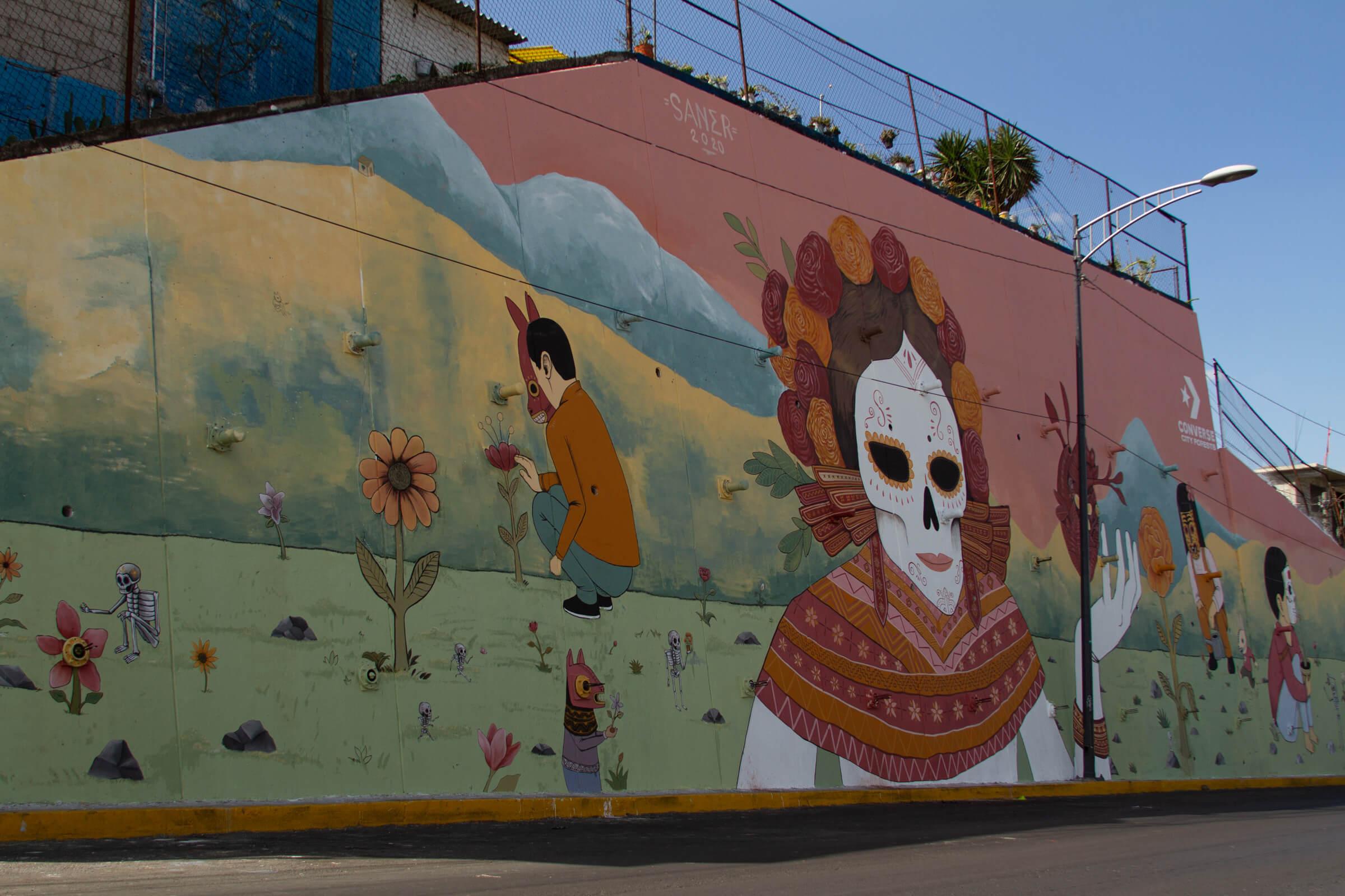 converse murales