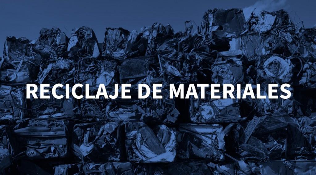 Reciclaje de materiales